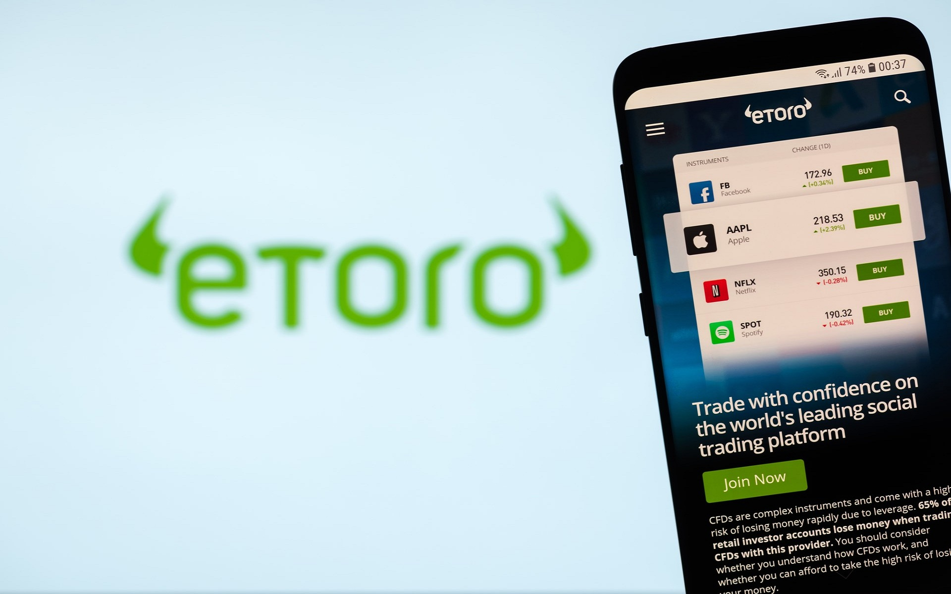 Detail and Features of eToro the Best App for Cryptocurrency Trading